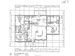 3901 Vail Lane, Bryan, Texas - Floor Plan